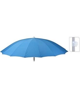 SHANGHAI Mėlynas paplūdimio skėtis