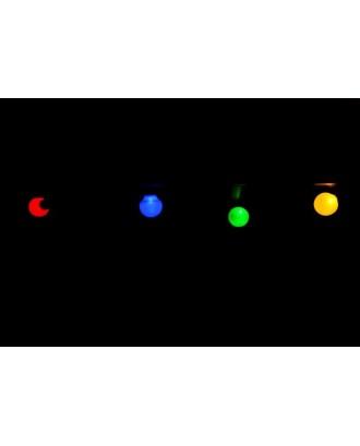 20 LED lempučių girlianda, spalvota