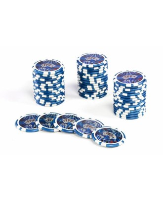 Pokerio žetonų nominali vertė 50 vienetų