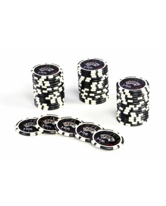 50 vienetų - Pokerio žetonai