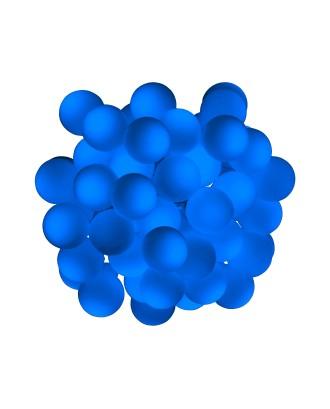 40 LED mėlynų kamuoliukų, 5m.
