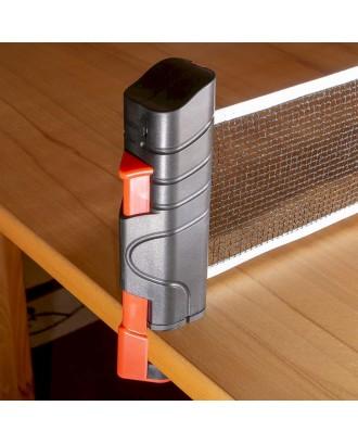 Nešiojamas stalo teniso, tinklo ir rakečių rinkinys