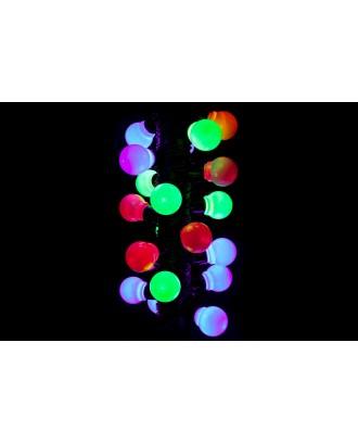 20 LED sodo žibintų, spalvotų lempučių