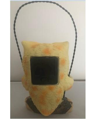 """Dekoratyvinė saulės lempa """"Owl Yellow"""" LED"""