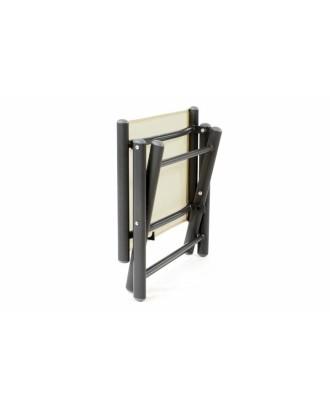 Sulankstoma aliuminio kėdė