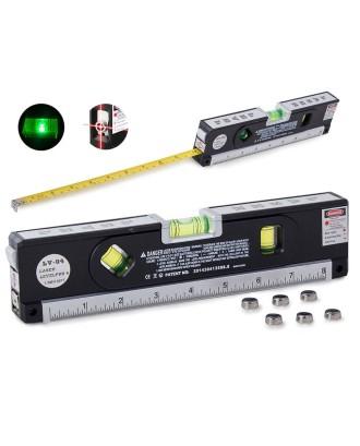 Poziomica Laserowa Z Miarką 250cm Miara Laser Cale