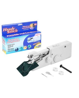 Mini rankinė siuvimo mašina su baterijomis