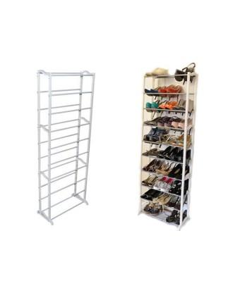 Metalinė batų lentyna ,telpa 30 porų.
