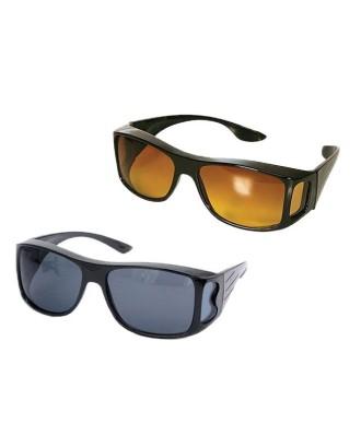 """""""Vision"""" vairuotojo akiniai, skirti vairuoti naktį 2 vnt"""