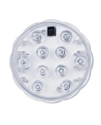 Vandeniui atspari LED lempa su nuotolinio valdymo pultu - 2 vnt