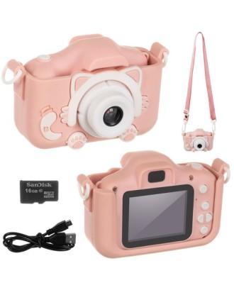 Vaikų fotoaparatas,skaitmeninis žaislas 2 colių HD ekranas 1080P 16GB 16952