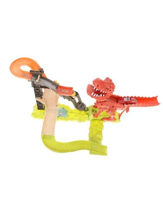 Dinozaurų trasa + 2 automobiliai