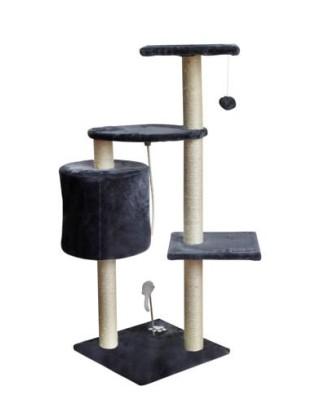 """Kačių draskyklė, medžio bokštas """"Cat Bed"""" 5 lygiai pilka 1978 m"""