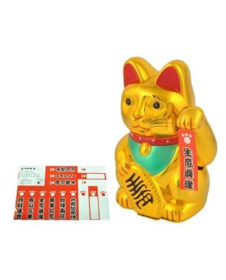 Laimingoji Kinijos katės figūrėlė