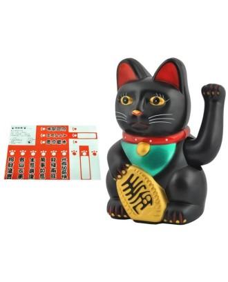 Laiminga auksinė kinų katė Maneki - laimės simbolis # 3064