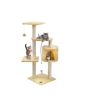 Cat Scratching Tree Tube Pramogos Animal Animal Scratcher 110 cm # 1979