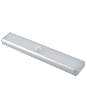 LED lempute su judesio detektoriumi • LED STRIP. automatiškai išsijungia po 15 s. • šalta balta šviesa • 80 liumenu • 1W • # 3455