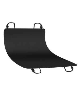 APSAUGINIS ATSPARUMAS AUTOMOBILIUI • juodos spalvos • poliesteris + PVC • 144 x 144 cm • lengva valyti • vandeniui atsparus • užpakalines sedynes ir pakrovimo kilimelis • # 4077