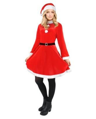 Kalėdinis moteriškas kostiumas