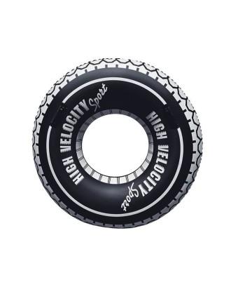 Automobilio padangos formos plaukimo žiedas O119cm Bestway