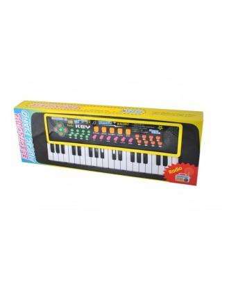 Elektroninė vaikų klaviatūra + mikrofonas. 37 klavišai. 6722