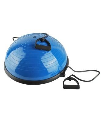 Balansas su lazdelei Pusiau kamuoliuko oro siurblys O57cm. Pagrindinis reabilitacijos fiziologinis sportas # 5448