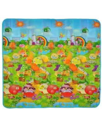 Gerai izoliuotas žaislinis kilimėlis 180x200x0,5cm