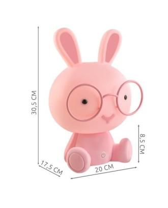 Naktinis apšvietimas vaikams Teddy Bear 25cm 3 LED režimai 7882