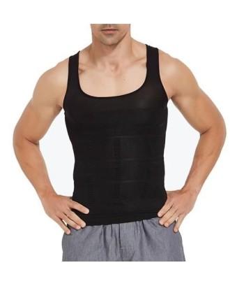 Figūrą formuojantys apatiniai marškinėliai vyrams 8631