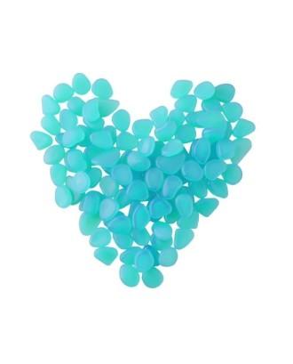 Švytintys akmenys - 100 vienetų mėlynos spalvos rinkinys