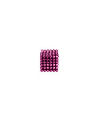 Magnetiniai rutuliai 216vnt 3mm rožiniai + dėžutė 9029
