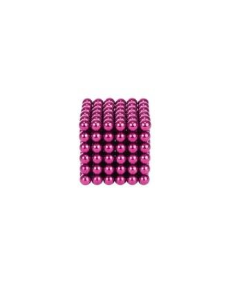 MAGNETINIAI RUTULIAI 216vnt 5mm rausva + dėžutė 9034