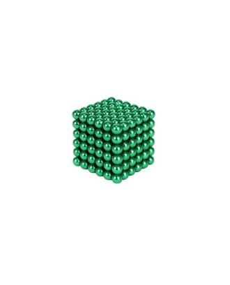 Magnetiniai rutuliukai 216vnt 5mm, žalia + dėžutė