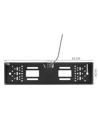 Atbulinės eigos kamera su valstybinio numerio ženklo rėmu 8828