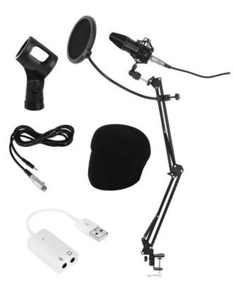 Mikrofono komplektas garso įrašams 8957