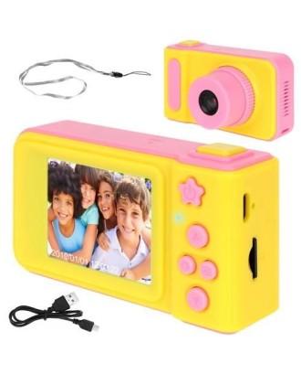 Vaikiška mini skaitmeninė kamera 1080P HD, įkraunama,2 colių LCD ekranas 8940