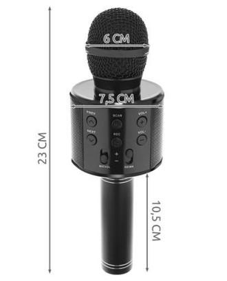 "Belaidis ""Karaoke"" mikrofonas ""Bluetooth"" garsiakalbis 8995"