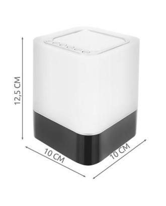 """""""Bluetooth"""" kolonėlė garsiakalbis lempa žadintuvas 3in1"""
