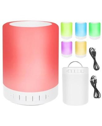 """""""Bluetooth"""" kolonėlė garsiakalbis-naktinė lempa 2in1"""