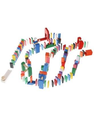 Mediniai domino blokai Dėlionė 407 elem. 9357