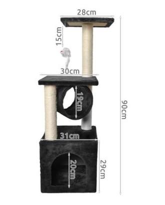 Juodas kačiu medis 90 cm