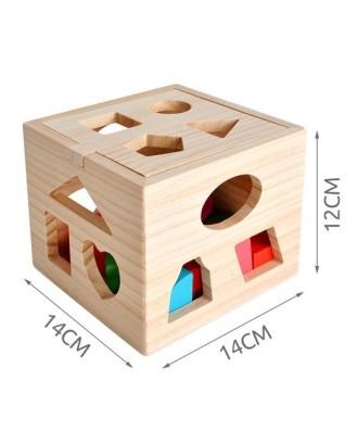 9366 Medinis kubas- edukacinis blokas