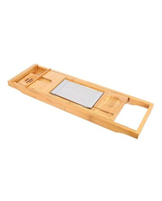 Bambukinė lentyna vonios malonumams 9710