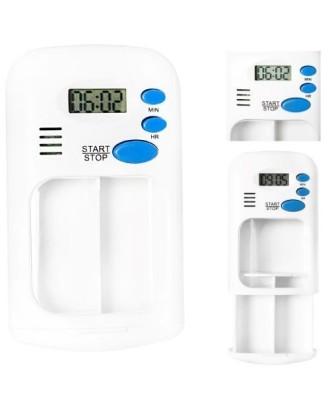 Elektroninė vaistų dėžutė su garso signalu
