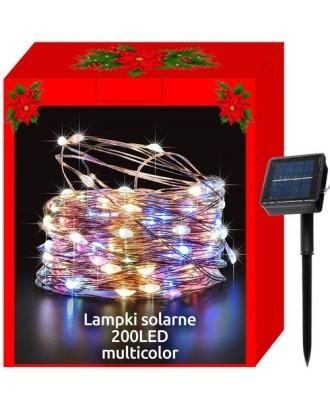 200 LED šviesos grandines lauko saules vandeniui atsparios saules šviesos grandines 11396