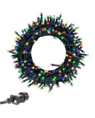 Kalėdinė girlianda 100 LED multicolor 31V 13m