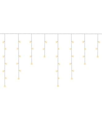 Kalėdinės lemputės - varvekliai 300 LED šilta balta 31V