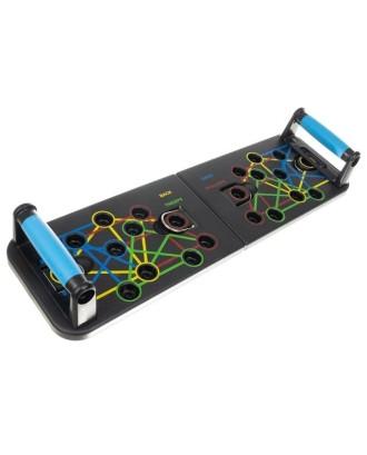 Push-up Board Push-up Grips sulankstomos kuno rengybos treniruočiu sistema 14200
