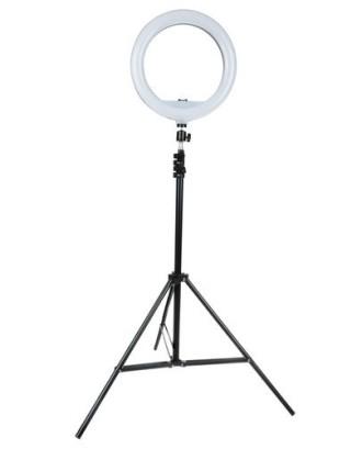 Apšvietimo rinkinys.Žiedinė šviesos lempa. 12261