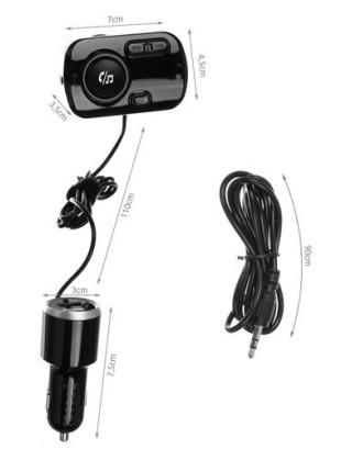 Daugiafunkcinis automobilio siųstuvas FM - 2x USB BLUETOOTH MP3